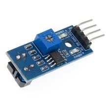 50 unids/lote TCRT5000 sensor de reflectancia infrarroja módulo evitar obstáculos sensor de rastreo