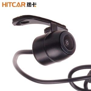 Автомобильная парковочная камера переднего вида с разъемом RCA, широкоугольная Водонепроницаемая задняя камера заднего вида, резервное коп...