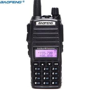 Image 2 - 1 sztuk/2 sztuk Walkie Talkie Baofeng UV 82 stacja radiowa 5W przenośny Baofeng UV 82 radia amatorskie BF UV82 Dual PTT Two Way Radio 2 PTT