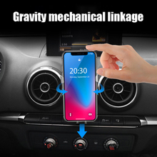 Support Telephone Interior Accessories Car Air Vent Gravity Linkage Phone