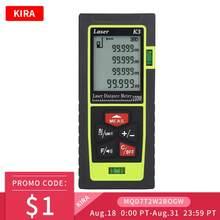 KIRA laser télémètre distance mètre 100m 70m 50m 40m laser ruban télémètre construire mesure numérique règle trena roulette