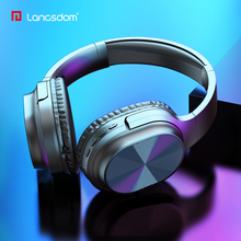 цена на Langsdom 2020 Headphones Bluetooth Earphone Wireless Over-Ear Headphone for phone Stereo Gaming Headset with Mic TF Card MP3 FM