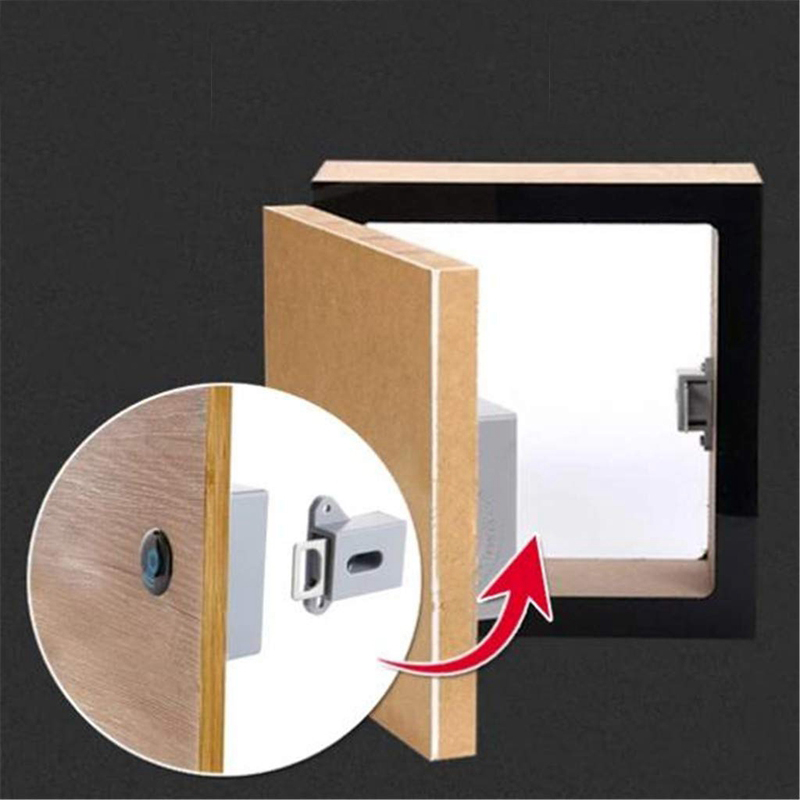 No-Hole Invisible Cabinet Lock 5