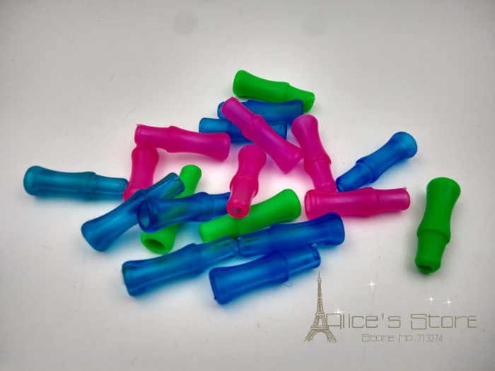 10 stücke Farbe Gummi Shisha Schlauch Mouthtips-Mund Tipps/Wasser Rauchen Rohr Narguile Zubehör
