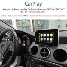 OEM Upgrade CarPlay Video Interface Box Backup Camera Car Multimedia Integration For Mercedes A Class NTG4.5 Audio 20