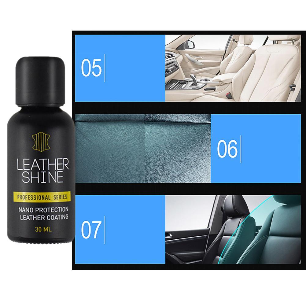 Nano líquido couro do carro cuidado interior