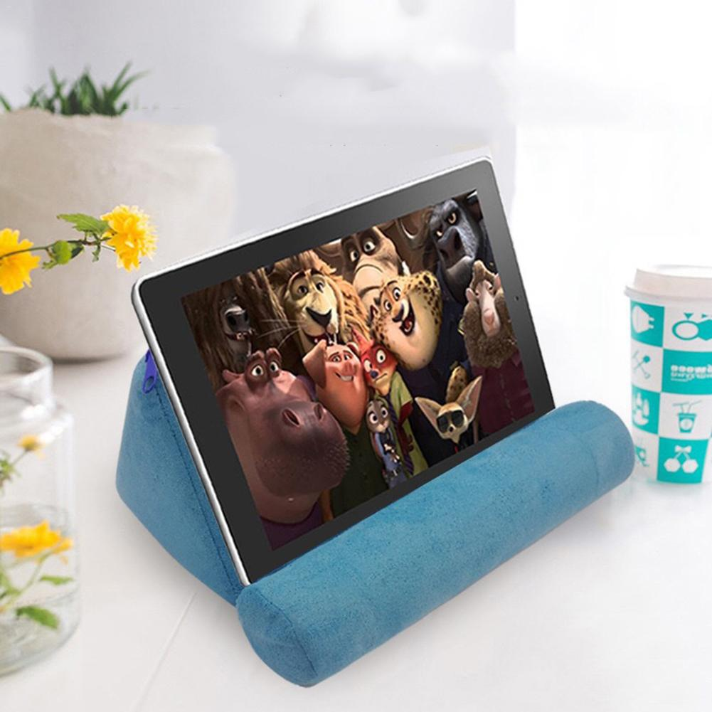 Multi-function Laptop Cushion Holder Colorful Lapdesk Tablet Stand Pillow Polyester Cotton PC Reading Bracket Pillow For Ipad