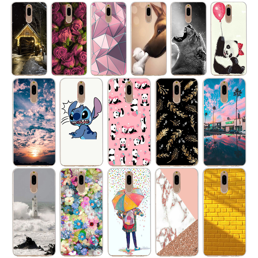 L Case Cover For Huawei Nova 2i Soft Silicone TPU Cool Patterned Painting For Huawei Nova2i Phone Cases