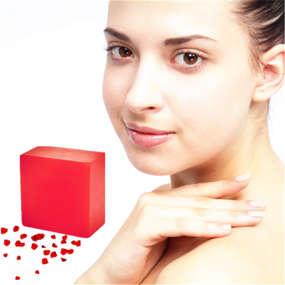 Pure Handmade Whitening Soaps Herbal Medicine Fade Melasma Soap Bleaching Kojic Acid Glycerin Soap Cleaning Brighten Dark Skin