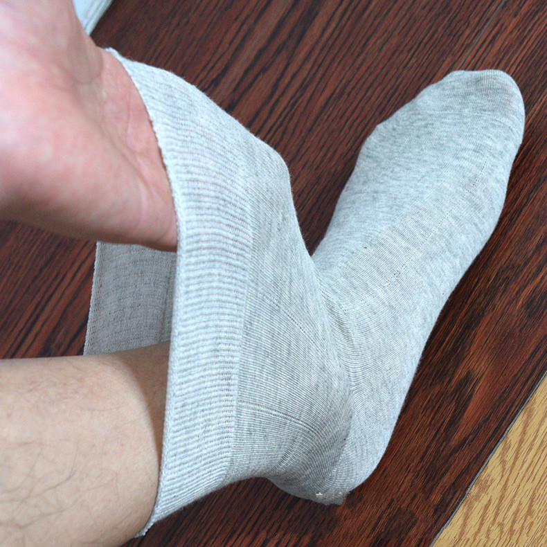 Diabetic Socks Oversize Varicose-Veins Bamboo Mouth Cotton Material 2pairs Prevent