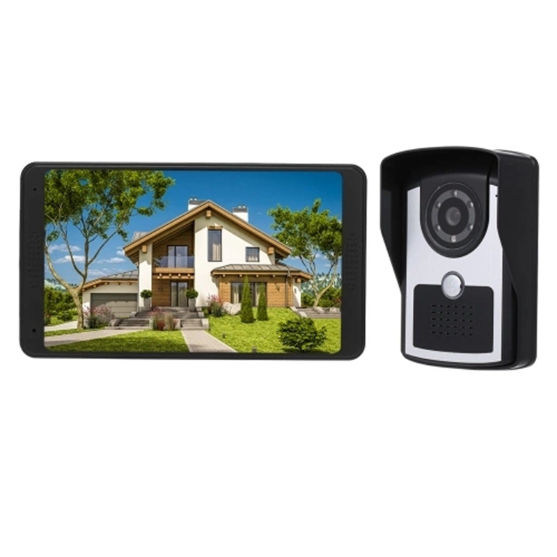 Hot 3C-7 Inch TFT LCD Wireless WiFi Smart Video Door Phone Intercom System 1000TVL Wired Doorbell Camera