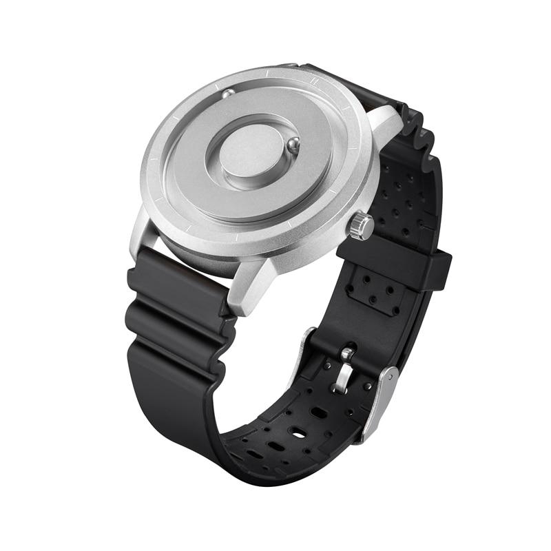 EUTOUR New Innovative Blue Gold Magnetic Metal Multifunctional Watch Men's Fashion Sports Quartz Watch Simple Men's Watch 13