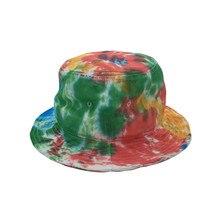 Складная летняя кепка с крашеным галстуком, простая повседневная Уличная Кепка от производителя с вашим логотипом