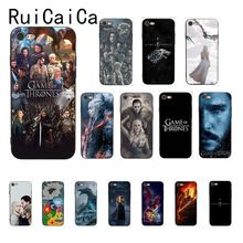 Ruicaica Game of Thrones Daenerys Dragon Jon Snow tyrion lannister Phone Case for iPhone 8 7 6 6S 6Plus X XS MAX 5 5S SE XR 10