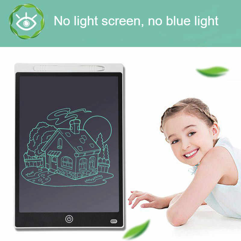 Color : Black, Size : 9 inches YonCog Creative 9 Inches Cartoon LCD Electronic Tablet Childrens Drawing Board Writing Graffiti Blackboard Increase Creativity