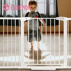Детские защитные ворота EUDEMON, защитные лестницы для детей, Безопасные ворота для домашних животных, изоляция для собак