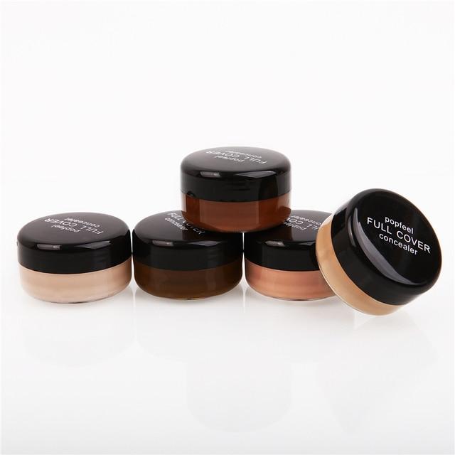 Liquid Face Foundation Base Concealer Cream Face Cover Blemish Hide Dark Spot Blemish Eye Lip Contour Makeup Cosmetic TSLM1 2