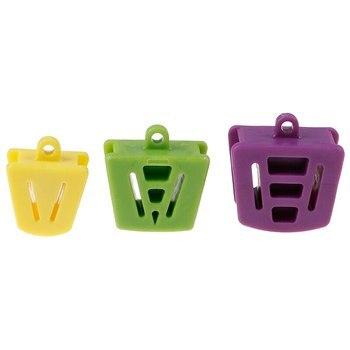 3 uds. Herramienta de cuidado Material de blanqueador Dental dentista soporte Dental de silicona para la boca bloque de mordida abridor de goma Retractor de látex
