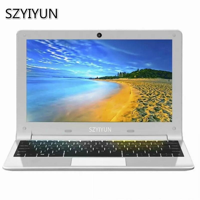 11.6 Inch Intel Mini Laptop Portable PC Computer 4GB RAM 60G 128G 256G 512GB SSD Laptop Quad Core Students Notebook Mini Netbook
