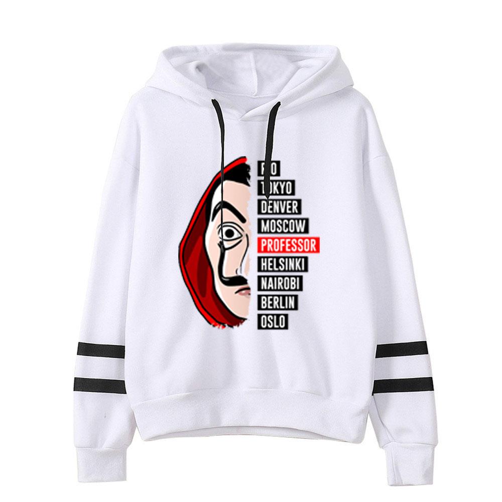 La Casa De Papel 3D Printed Hooded Sweatshirts TV Series Pullovers Men Women Fashion Hoodie Casual House Of Paper Hoody Hoodies