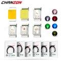 100 шт. 0402 SMD светодиодные излучающие диоды, чип лампы светильник вые бусины, теплый белый, красный, зеленый, синий, желтый, микро-цвет, печатная...