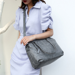 Luxury Brand Women Leather Hand Bags 2020 Large Capacity Vintage Messenger Bags Female Casual Big Totes Shoulder Bag Sac A Main