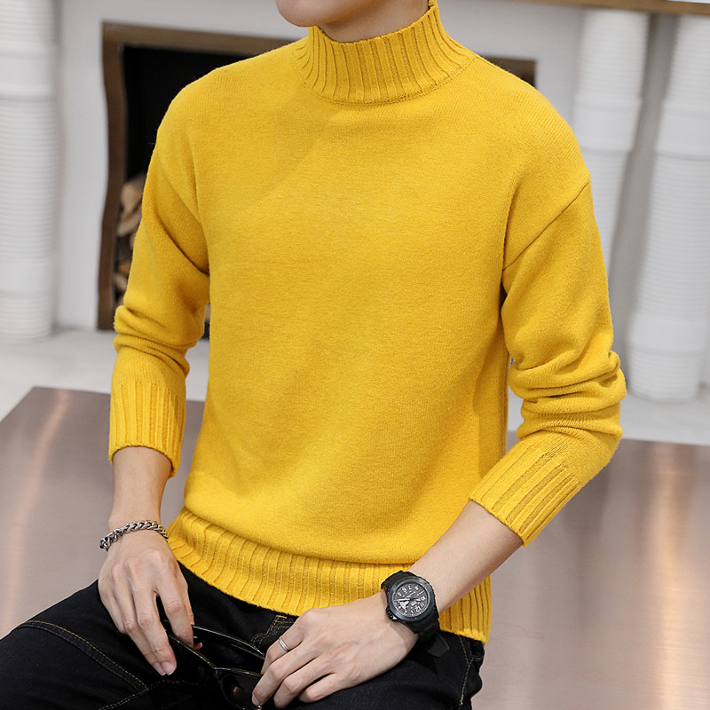 Fa5502A 2019 New Autumn Winter Men Fashion Casual Warm Nice Sweater Warm Knitted Pullovers