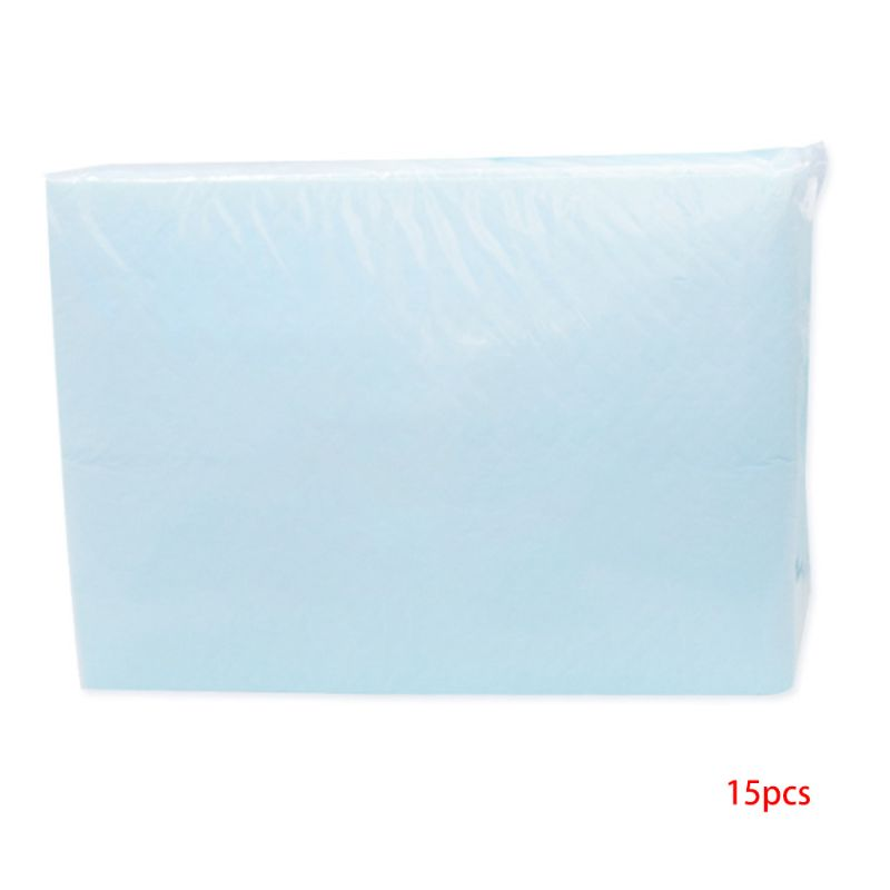 15Pcs/Set Disposable Incontinence Bed Pads Waterproof Matteress Sheet Protector Absorbency Underpads Mats Liner