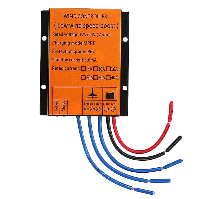 Wind Turbines Generator Charge Controller 1000W 12/24V Auto MPPT Waterproof Controller