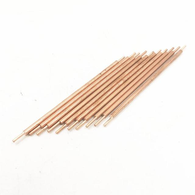 3*100mm soldadura de soldadura aguja máquina soldadora de soldadura accesorios alúmina cobre batería máquina de soldadura pines