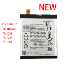 100% Original HE336 HE321 2900mAh Battery For Nokia 5 Dual SIM (TA-1053 DS) For Nokia 3.1 New Production High Quality
