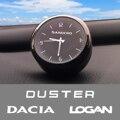 Высококачественные часы для украшения автомобиля, модифицированные электронные кварцевые часы для салона автомобиля Dacia duste logan sandero, аксес...