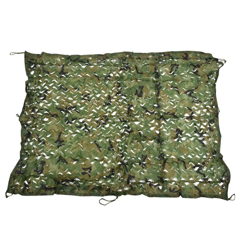 2m x 1.5m Shooting Hide Army Camouflage Net Hunting Oxford Fabric Camo Netting