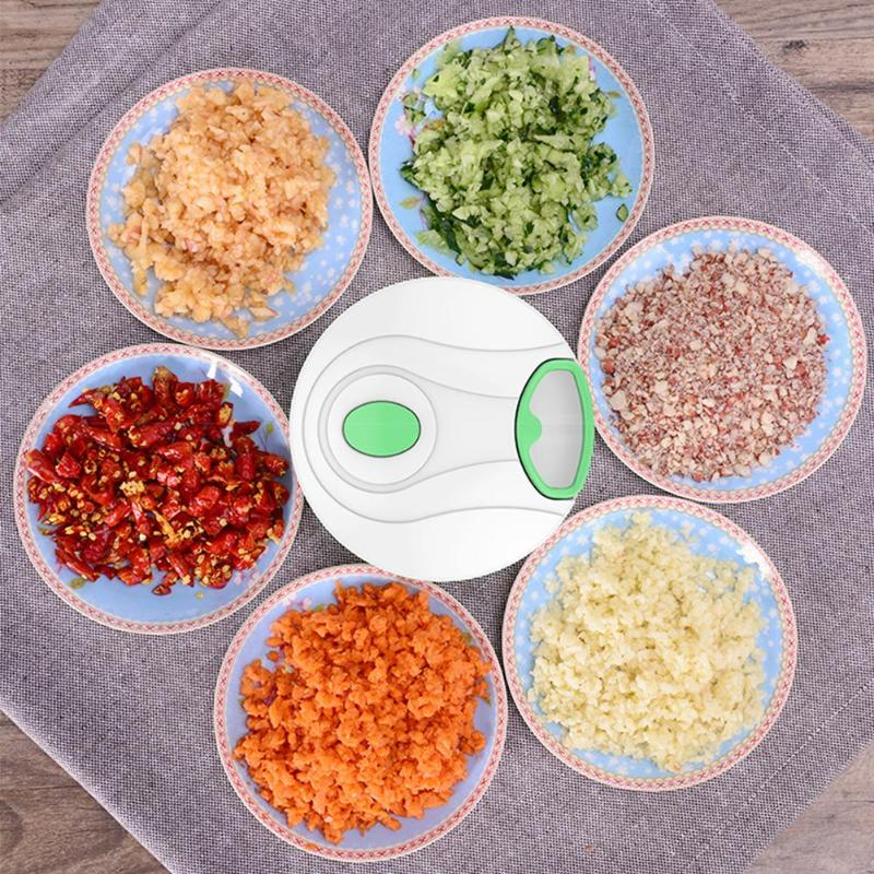 Manual Fruit Vegetable <font><b>Chopper</b></font> Hand Pull <font><b>Food</b></font> Cutter Onion Nuts Grinder Mincer Shredder <font><b>Multifunction</b></font> <font><b>Kitchen</b></font> Cooking <font><b>Tool</b></font> image