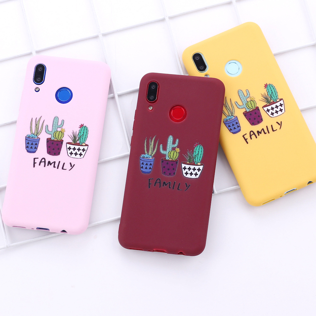 Cactus Family Plant Phone Cover for Samsung Phones