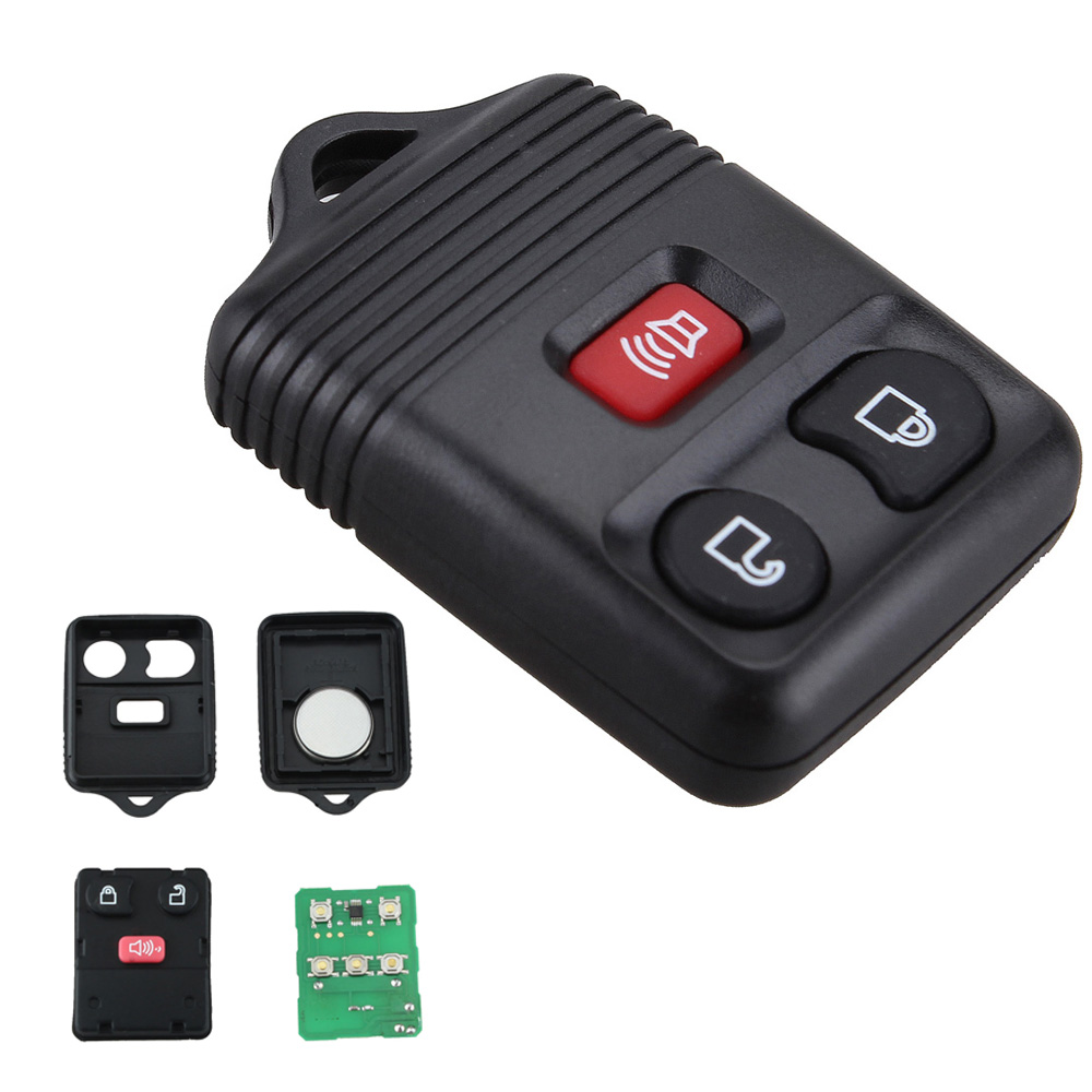 433 & 315MHZ 3 Buttons Remote Control Car Key Fob Clicker Transmitter Keyless Entry Replacement for Ford/Mazda/Mercury 1998-2014 image