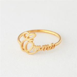 Personalized Name Ring For Wom