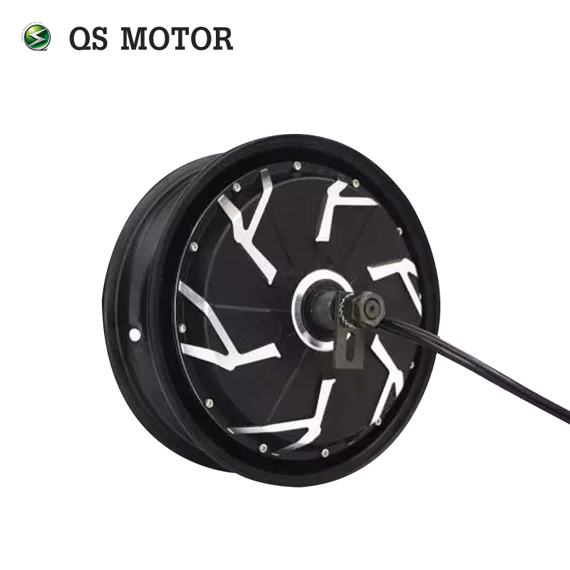 QS Motor 12inch 5000W 260 45H V4 Brushless DC Electric Scooter Motorcycle Wheel Hub Motor