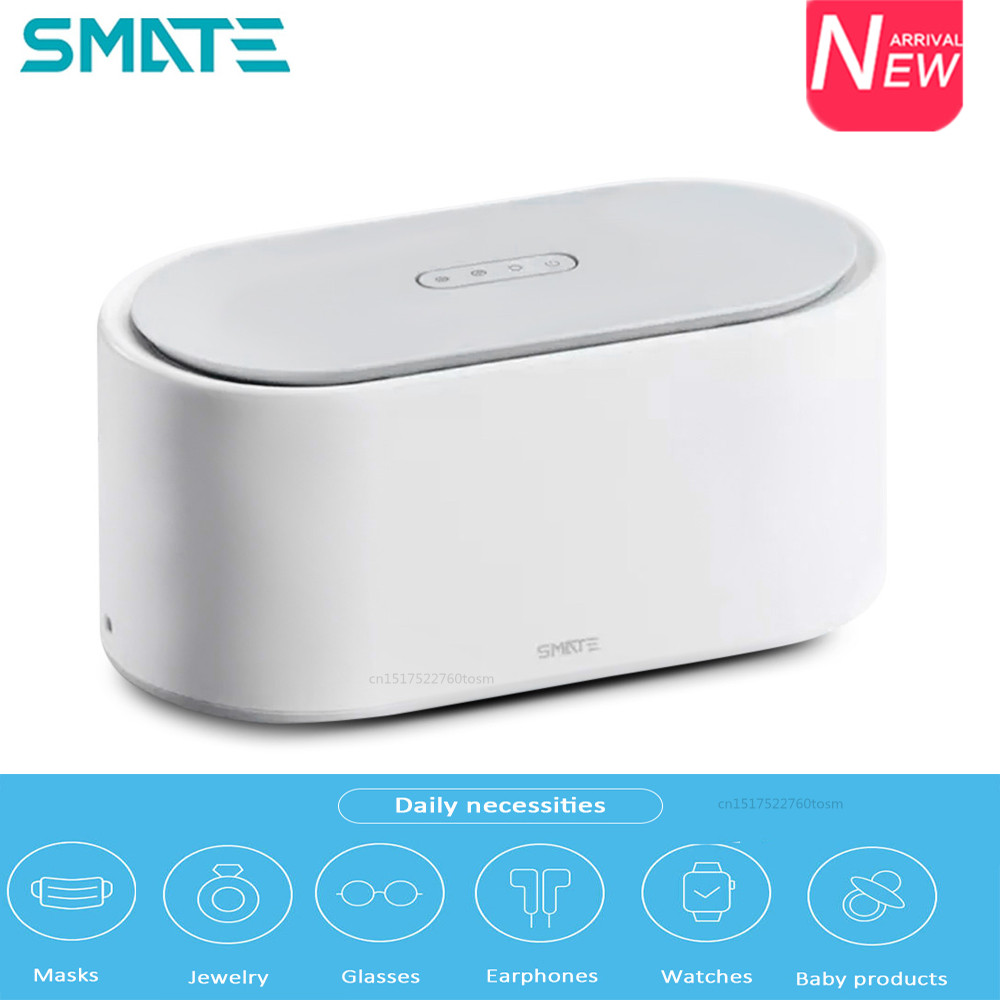 SMATE SX-01 Electric Sterilizer <font><b>Box</b></font> <font><b>UV</b></font> Light Drying Sterilizer 3 Modes 99.9% Sterilization For Most Devices 24W For Home Jewelry image