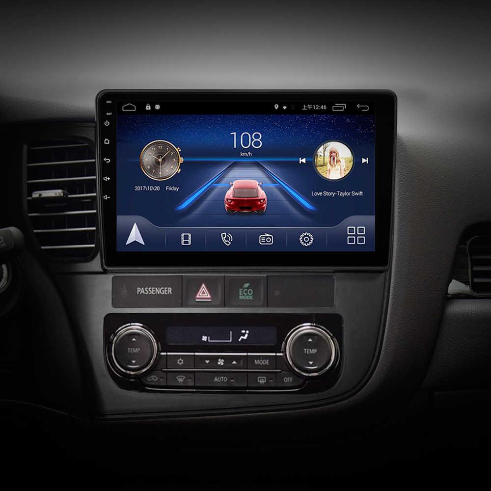 Prelingcar Android 10 DVD Auto Radio Multimedia Video Player di Navigazione GPS Per Mitsubishi Outlander 3 GF0W GG0W 2012-2018 2 din