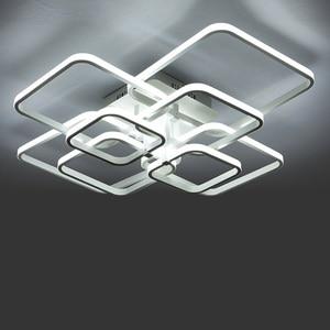 Image 3 - รีโมทคอนโทรลDimmingโมเดิร์นPlafon LEDโคมไฟเพดานอลูมิเนียมห้องรับประทานอาหารห้องนั่งเล่นห้องนอนไฟLamparas De Techo