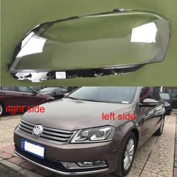 Para Volkswagen VW Passat B7/Magotan B7L 2012 2013 2014 2015 faro delantero pantalla transparente cubierta de cristal