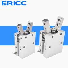 MHC2 10D 16D 20D 25D 32D Double acting pneumatic gripper SMC type angular style aluminium clamps air cylinder manufacturers