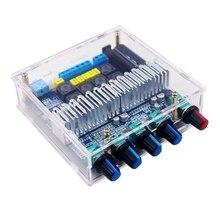 Tpa3116d2 bluetooth 5.0 subwoofer placa amplificador 2.1 canais de alta potência áudio estéreo amplificador placa 2*50w + 100w baixo amp