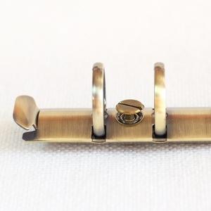 Image 4 - 100pcs Colorful Metal Screws for Spiral Binder Loose Leaf  Clip 5Colors Silver/Bronze/Red bronze/Grey/Golden 4mm/7mm/10mm sizes
