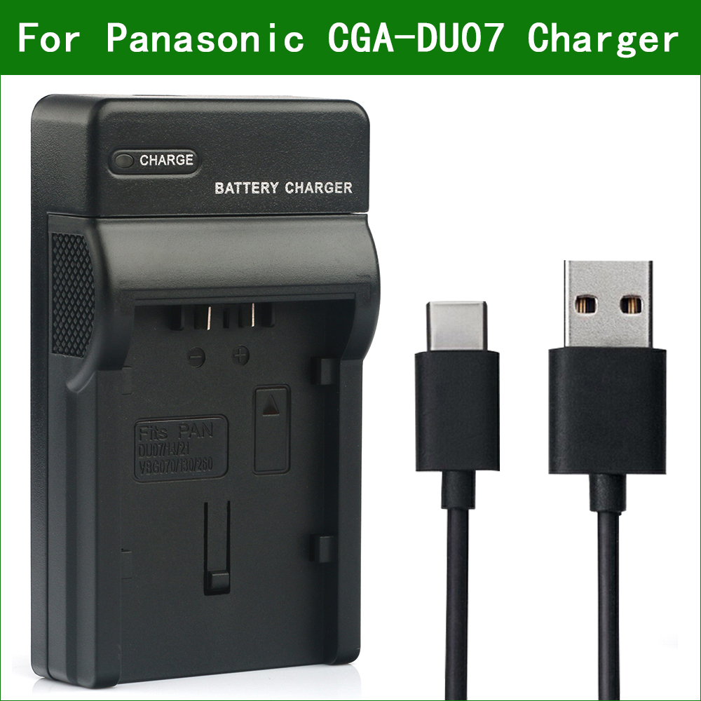 LCD Quick Battery Charger for Panasonic NV-GS40 NV-GS44 NV-GS50 NV-GS55 Camcorder