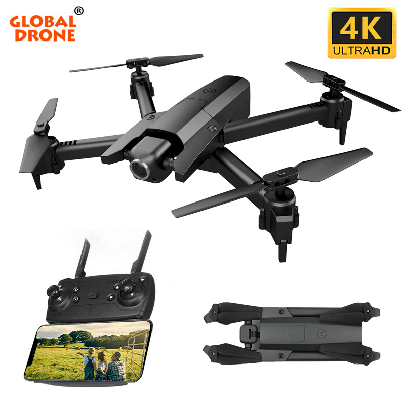 Global Drone 4K Drones with Camera HD RC Helicopter Foldable Quadcopter FPV Quadrocopter Drone X Pro Dron VS E58 E520S SG106-에서RC 헬리콥터부터 완구 & 취미 의  그룹 1