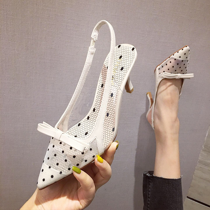 Sandals Stiletto Heels Comfort Shoes For Women Suit Female Beige 2019 Summer Shoes Comfort Block Fashion Ladies Heeled High