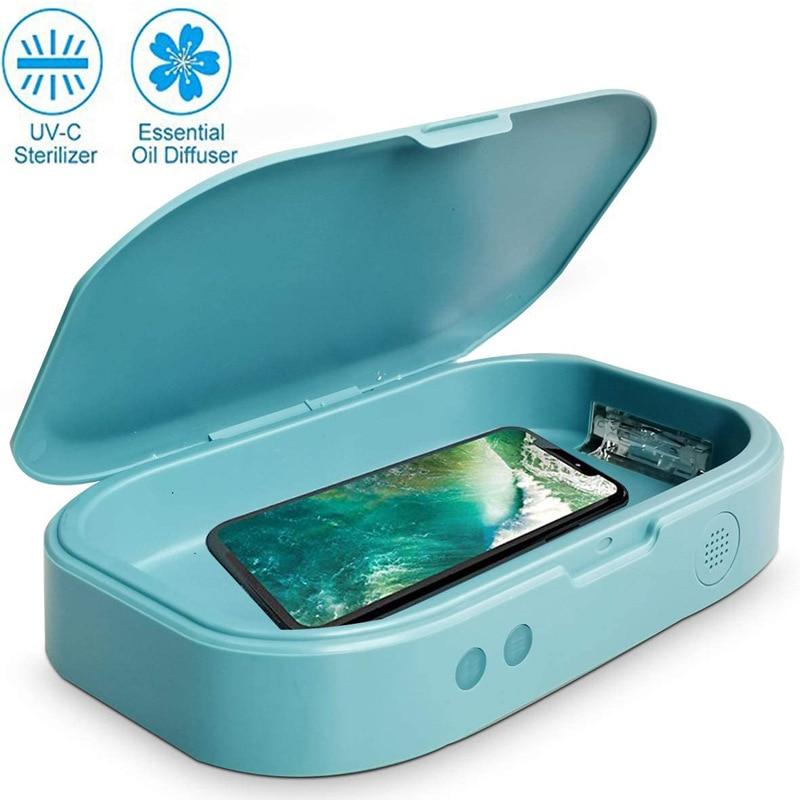 UV Sterilizer Box Sterilization Rate 99% Portable Multi-function For Personal Jewelry Phone Face Mask UV Sterilization