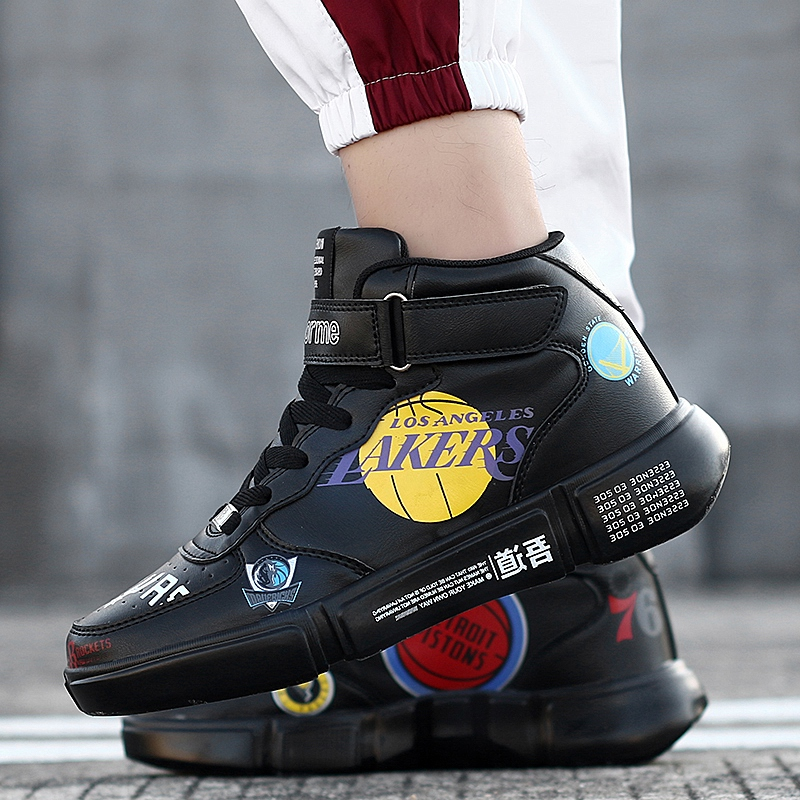 Winter Shoes Men High Canvas Shoes White Shoes Men Women Shoes Couple Shoes Basketball Shoes Fashion Men's Casual Shoes